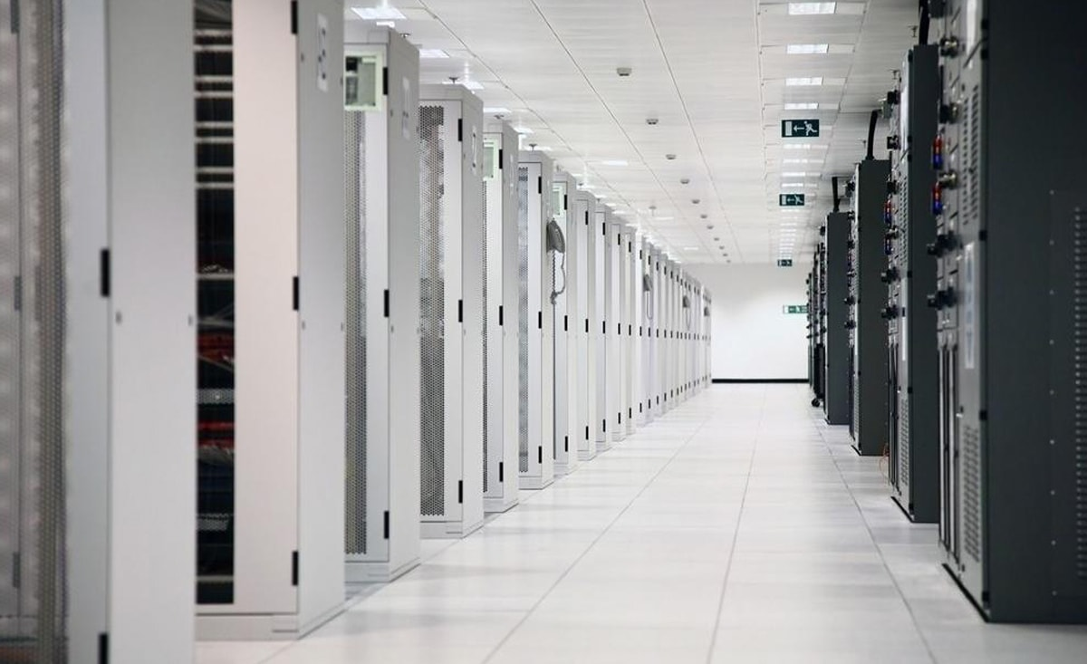 Servers are sensitive to extremes of heat and humidity